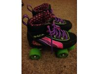 SFR RIO ROLLER SKATES SIZE 3 excellent condition, barely worn. £25