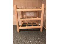 9-bottle wine rack HUTTEN (Ikea)