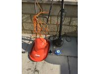 Hover. Mower and strimmer with spares