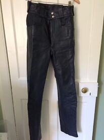 LEWIS LEATHERS ladies motorbike trousers