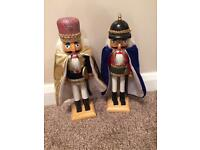 Wooden nut crackers