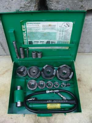 Greenlee 7310 12 To 4 Hydraulic Knock Out Punch