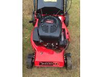 Damaged Self Propelled Petrol Lawn Mower