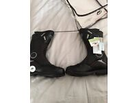 Motorbike boots size 9 brand new in bag