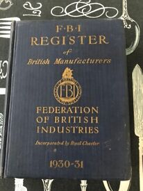 book register of british industries
