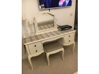 M&S Dressing Table, Mirror & Stool Marie Range Cost £799