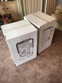 Pair of brand new Skytec DJ Passive speakers 800w each