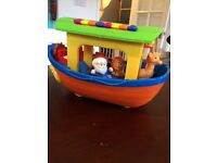 Noahs ark musical toy