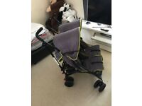 babystart double pram