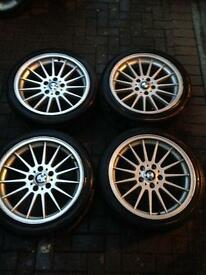 BMW E46 3 Series 18'inch Alloy Wheels
