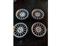BMW E46 3 Series 18'inch Alloy Wheels