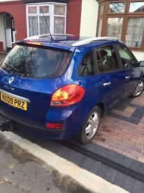 Renault Clio estate no faults at all