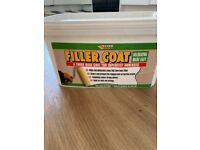 Filler coat - covers cracks in plaster
