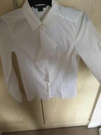 Armarni exchange white shirt