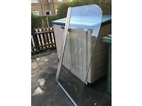 Bath screen (chrome) for sale