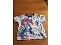 Transformers Optimus Prime t-shirt size 6-7years