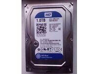 """Western Digital 3.5"""" 1TB Internal Hard Disk"""