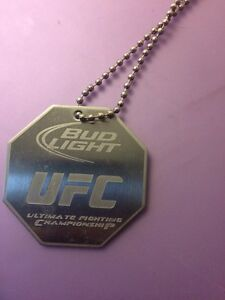 UFC Pendant Chain and Coasters