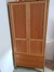 John lewis solid wood wardrobe