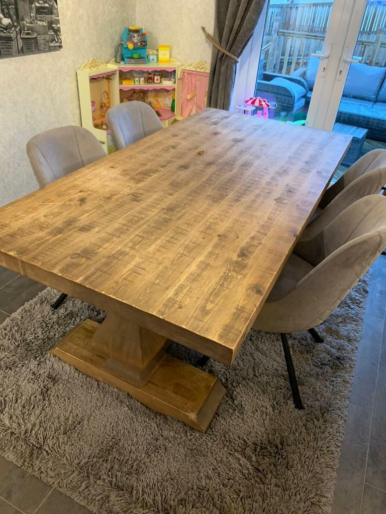 Peachy Sterling Sphinx Dining Table In Kirkintilloch Glasgow Gumtree Andrewgaddart Wooden Chair Designs For Living Room Andrewgaddartcom