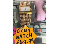 DKNY LADIES WATCH GOLD ORIGINAL
