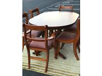 Dining Table and 6 Chairs (@07752751518)