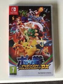 Pokken Tournament DX for Nintendo Switch.