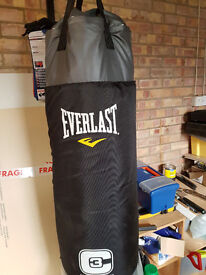 Punch bag , Used only afew times as new