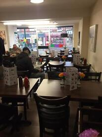 Coffee shop for sale, includes all fittings and equipment