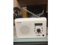 Pure One Classic Digital DAB/FM Radio DAB + Plus White