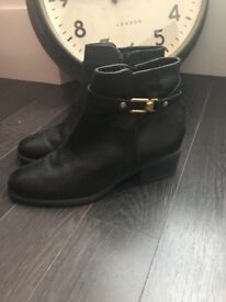 Oasis black boots. Size 6