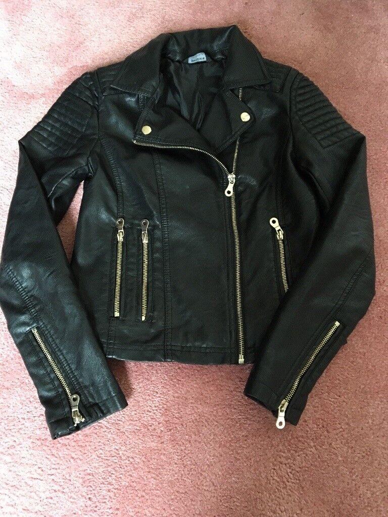 Miss selfridge leather jacket