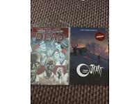 Walking dead/outcast graphic novels/comic