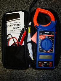 DRAPER EM266C ELECTRICAL TEST / CLAMP METER