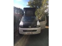 VW T5 with brand new camper van conversion
