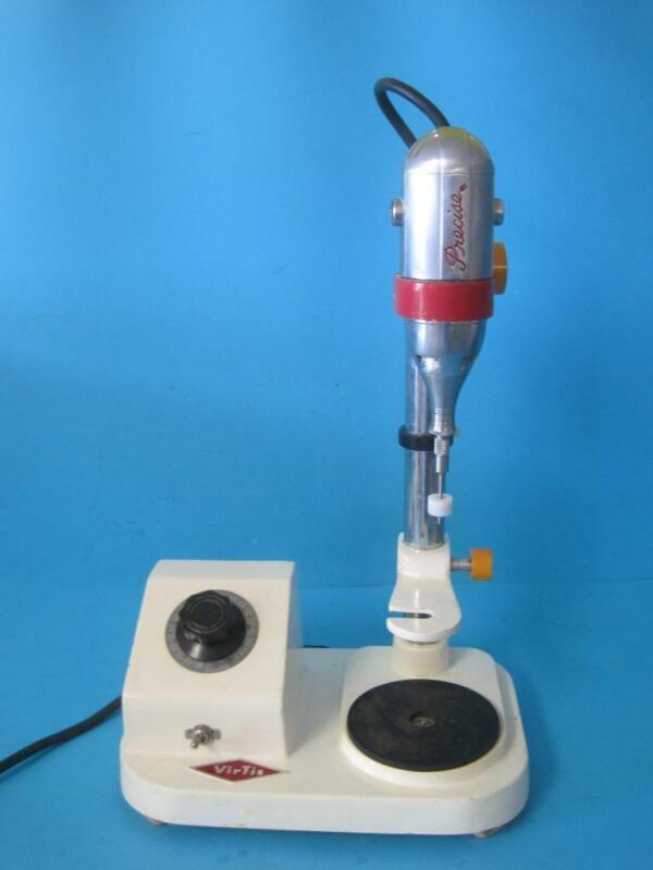 Virtis Tissue Homogenizer 45000 RPM Mixer Precise Super 30 w/Stand Speed Control