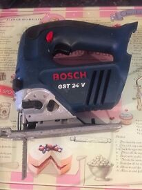 Bosch 24v jigsaw naked. In good used condition.