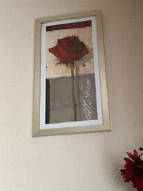 Red Rose 🌹 frame