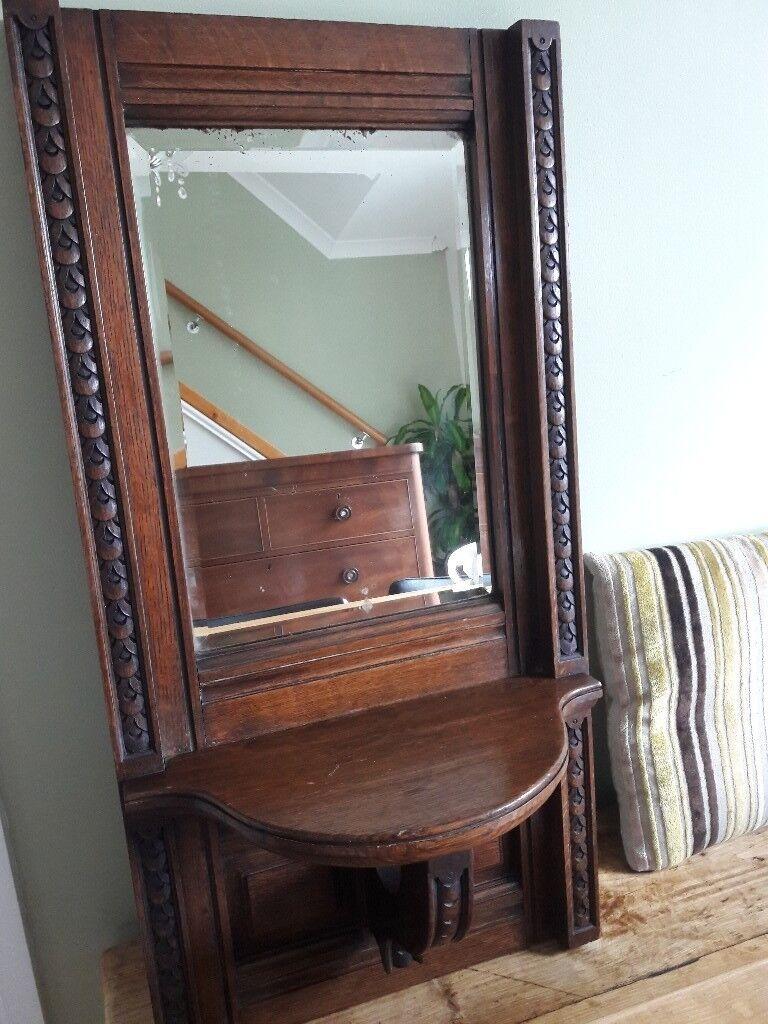 Vintage, antique Victorian mirror