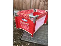 Child's play travel cot