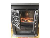 Electric 'wood burner' stove