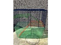 Cage and accessories for gerbils