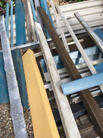 flashings - box profile - zinc-coated flat sheets