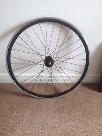 Fixie front wheel black