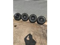 Yamaha Grizzly 450 wheels/ tyres. Trx, kvf