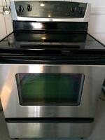 Whirlpool stainless steel oven