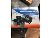 Down lighter holesaw set