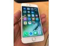 iPhone 6 gold 128gb factory unlocked pristine condition ( 10/10 ) with stickers on.
