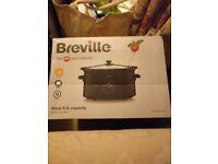 Breville VTP105 Black 4.5L capacity Slow Cooker
