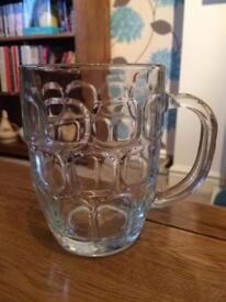 Pint dimpled jug